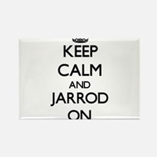 Keep Calm and Jarrod ON Magnets