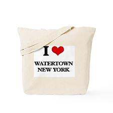 I love Watertown New York Tote Bag