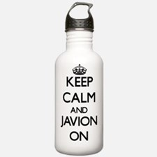 Keep Calm and Javion O Water Bottle