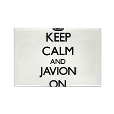Keep Calm and Javion ON Magnets
