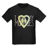 Two mommies Kids T-shirts (Dark)