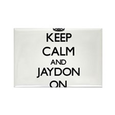 Keep Calm and Jaydon ON Magnets