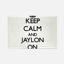 Keep Calm and Jaylon ON Magnets