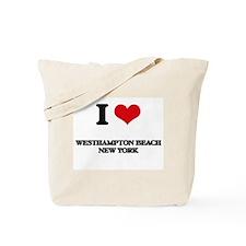 I love Westhampton Beach New York Tote Bag