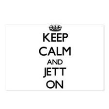 Keep Calm and Jett ON Postcards (Package of 8)
