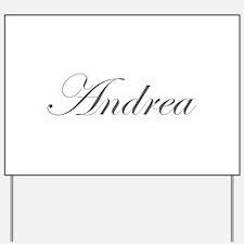 Andrea-Edw gray 170 Yard Sign