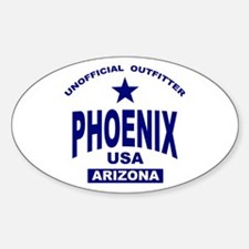 Phoenix Oval Decal