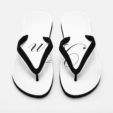 Ann-Edw gray 170 Flip Flops