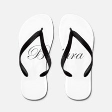Barbara-Edw gray 170 Flip Flops