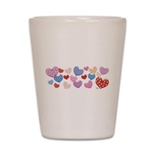 Floating Hearts.png Shot Glass