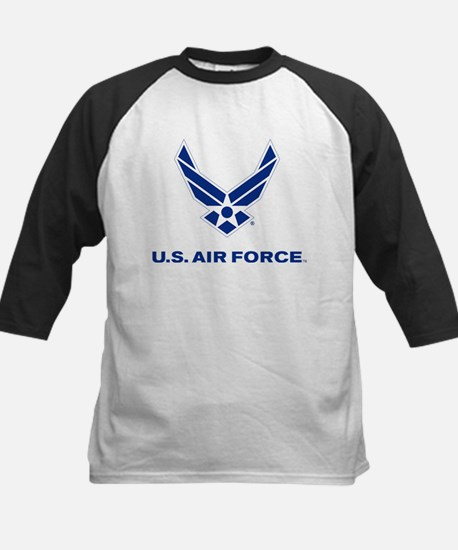U.S. Air Force Logo Kids Baseball Jersey