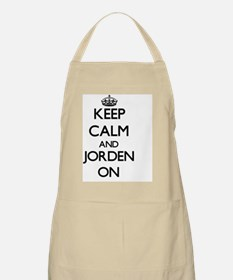 Keep Calm and Jorden ON Apron