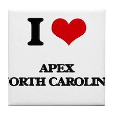 I love Apex North Carolina Tile Coaster