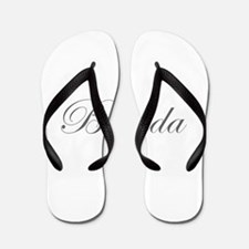 Brenda-Edw gray 170 Flip Flops