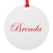 Brenda-Edw red 170 Ornament