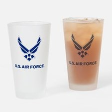 U.S. Air Force Logo Drinking Glass