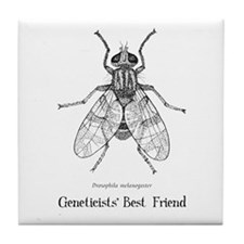 Geneticists' Best Friend Tile Coaster