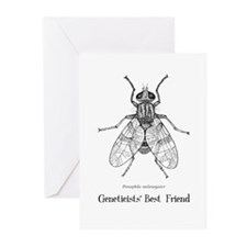 Geneticists' Best Friend Greeting Cards (Pk of 10)