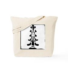 2-Sided Lumbar Spine Design Tote Bag