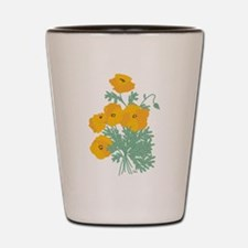 poppies.png Shot Glass