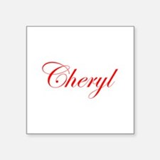 Cheryl-Edw red 170 Sticker