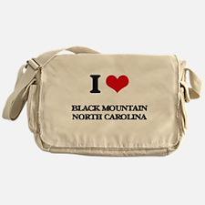 I love Black Mountain North Carolina Messenger Bag
