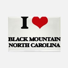 I love Black Mountain North Carolina Magnets
