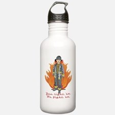 Fireman-light em.png Water Bottle