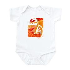 Batik-Style Double Helix Infant Bodysuit
