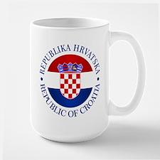 Croatia (rd) Mugs
