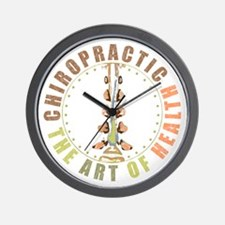 Chiropractic - Art of Health Wall Clock
