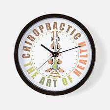 Chiropractic - Art of Health Wall Clock