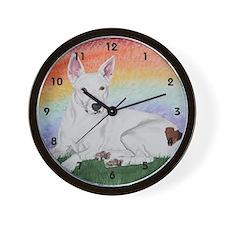 Holly's Rainbow Wall Clock