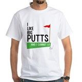 Golf Mens White T-shirts