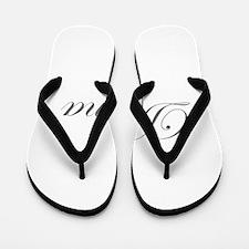 Donna-Edw gray 170 Flip Flops