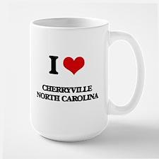 I love Cherryville North Carolina Mugs