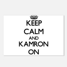 Keep Calm and Kamron ON Postcards (Package of 8)