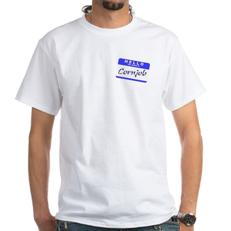 Conjob White T-Shirt
