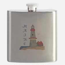 MAINE LIGHTHOUSE Flask