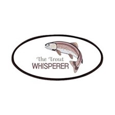 THE TROUT WHISPERER Patch