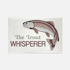 THE TROUT WHISPERER Magnets
