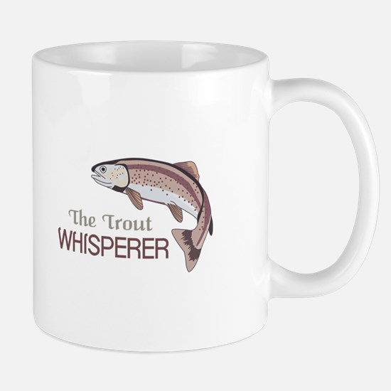 THE TROUT WHISPERER Mugs