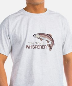 THE TROUT WHISPERER T-Shirt