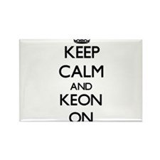 Keep Calm and Keon ON Magnets