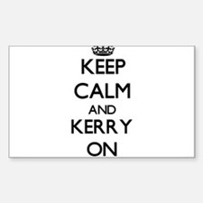 Keep Calm and Kerry ON Decal
