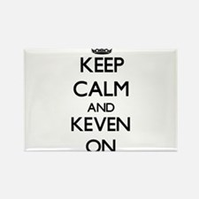 Keep Calm and Keven ON Magnets