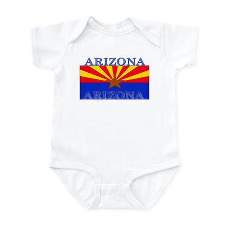 Arizona State Flag Infant Bodysuit