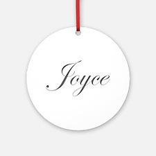 Joyce-Edw gray 170 Ornament (Round)