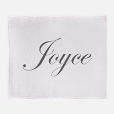 Joyce-Edw gray 170 Throw Blanket