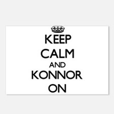 Keep Calm and Konnor ON Postcards (Package of 8)